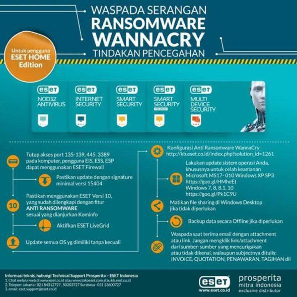 Virus Ransomware WannaCry menyerang? Ini cara mengatasinya!!